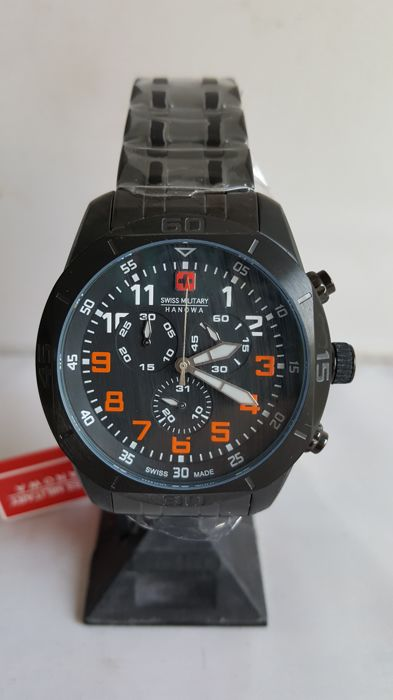Swiss Military Hanowa - Men's wristwatch - 2018 - unworn.