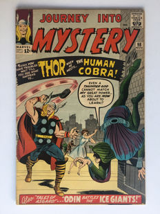 Marvel Comics - Journey Into Mystery / Thor #98 - Origin & 1st appearance the Human Cobra - 1x sc - (1963)