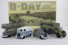 Corgi - Schaal 1/43 - D-Day 50th Anniversary Operation Overlord Set