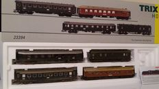 Trix H0 - 23394 - Set of 4 express carriages of the DRG
