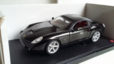 Hot Wheels - Scale 1/18 - Ferrari 575 GTZ By Zagato - Black