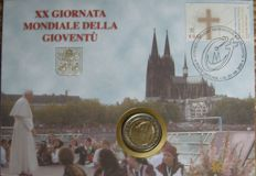 Vatican - 2 Euro 2005 (Numisletter) 'World Youth Days in Cologne'