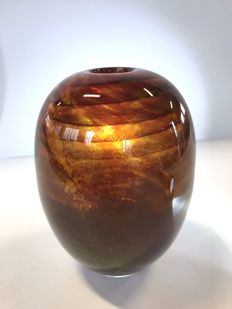 Maxence Parot - Unique vase  horizon (dated/signed)