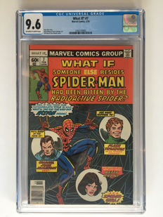 Marvel Comics - What If? Volume 1 #7 - CGC 9.6 graded!!!! Extremely high grade!! - 1x sc - (1978)