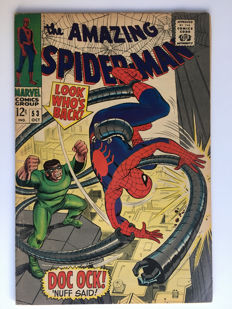 "Marvel Comics - The Amazing Spider-Man #53 - Doc Ock! ""Nuff Said!"" 1x sc - (1967)"
