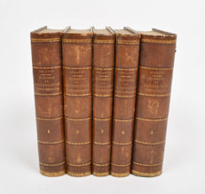 A. Nélaton - Élémens de pathologie chirurgicale - Five volumes - 1844/1859