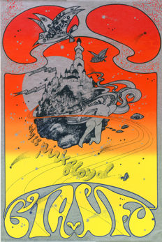 Pink Floyd  Hapshash Poster For Ufo Club 1967