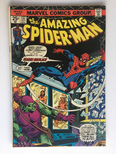 "Marvel Comics - The Amazing Spider-Man #137 - ""The Green Goblin"" - 1x sc - (1974)"