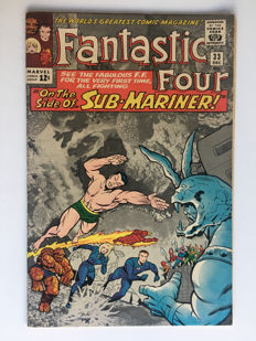 Marvel Comics - The Fantastic Four #33 - 1st appearance Attuma - 1x sc - (1964)