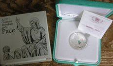 Vatican - 5 Euro 2013 'World Peace Day' - silver