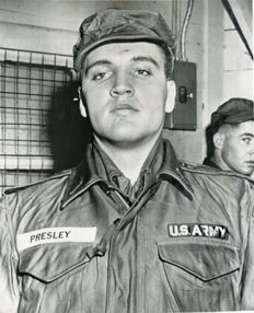 Unknown/AP Wirephoto - Elvis Aaron Presley, 'Presley the soldier', 1958