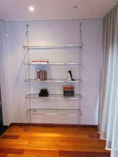 Design architect - Made to measure by architect - Boekenkast - Suspended design bookcase
