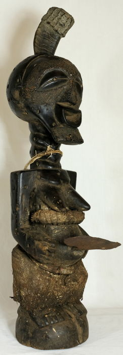 Formidable Village Hornfetish – Songye/Kalebwe – eastern Kasaye D.R.C.