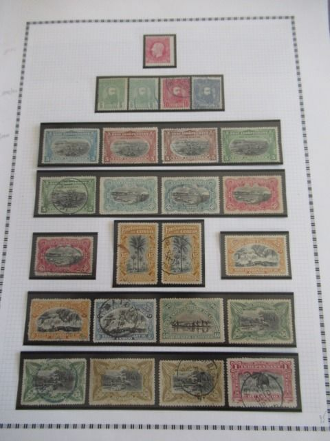 Anciennes colonies belges - Congo - Collection de timbres