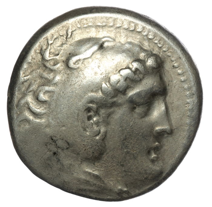 Grèce (ancienne) - Ionia, Perge. AR Tetradrachm, in the name and types of Alexander III (336-323 BC). Dated CY 33 (189/8 BC).  - Argent