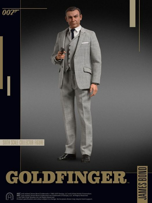 007 James Bond Goldfinger Collector Series Action Figure 1 6 Sean Connery 30cm Catawiki