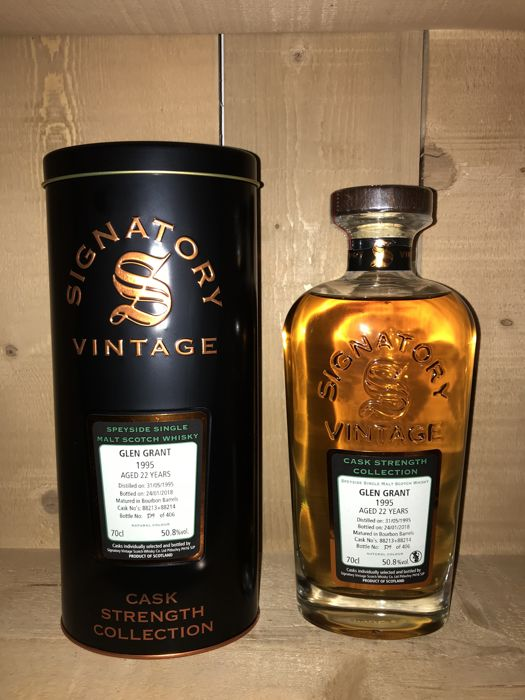 Glen Grant 1995 22 years old - Signatory Vintage - b. 2018 - 70cl