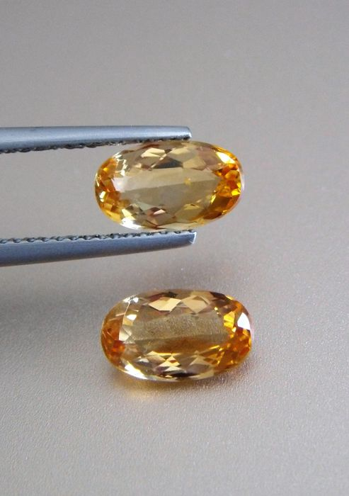 Imperial Topaz Pair - 2.99 ct