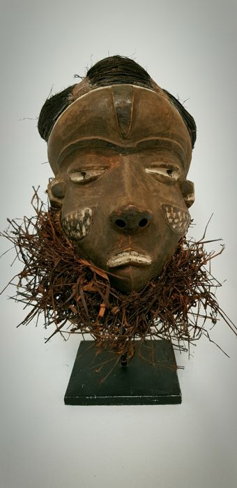 African mask - PENDE - D.R. Congo