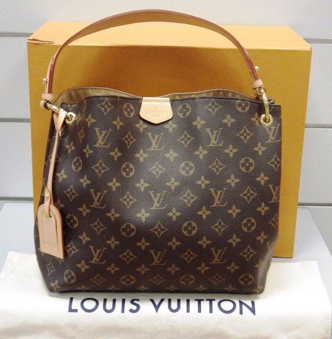 4b8e6ef6daf6 Louis Vuitton - Graceful PM monogram Tote bag - Catawiki