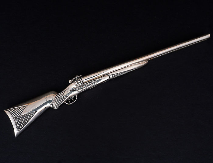 Miniature of the Rifle - Silver - Italy - 1950-1999
