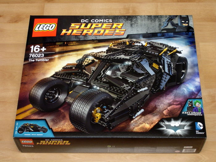 LEGO - DC Comics Super Heroes Batman - 76023 - Car The Tumbler - 2000-present - Netherlands