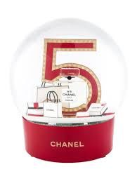 Chanel - large  snow globe, collector item - Glass