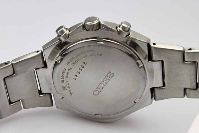 Seiko 7t62 Chronograph Box Papers 2003 Mint Condition Men