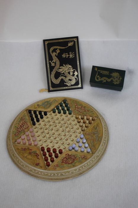 Franklin Mint - Chinese checkers/Halma