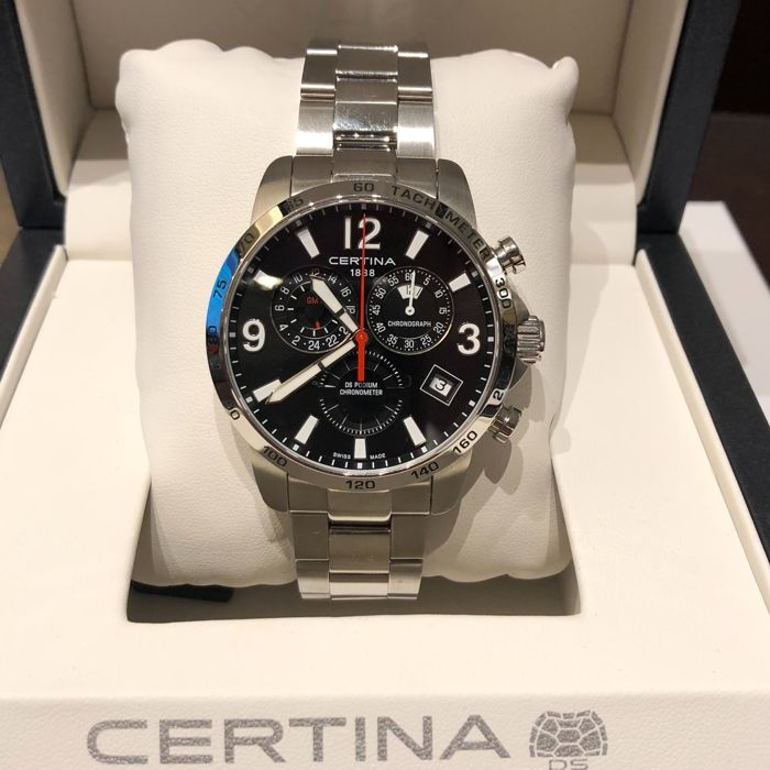 Certina - DS Podium Chronometer GMT Chronograph - C034.654.11.057.00 - Unisex - 2011-heute