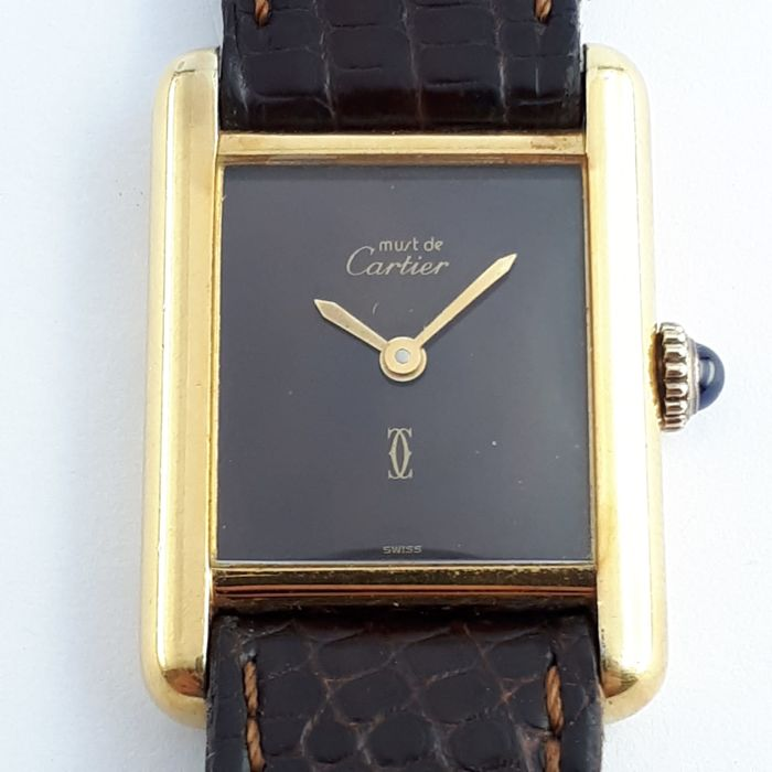 Cartier - Tank Must de Cartier - Ref 3 088004 - Women - 1990-1999