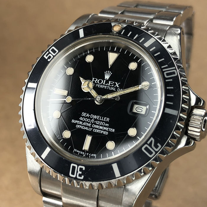 Rolex - Sea-Dweller Triple Six Spider Dial - 16660  - Uomo - 1980-1989