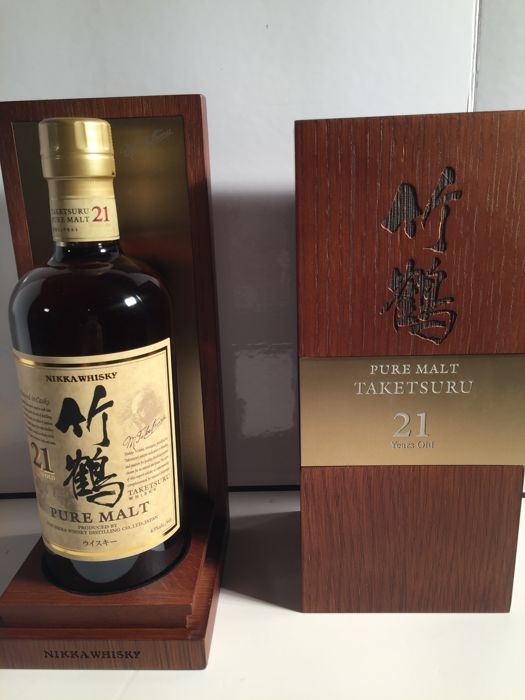 Taketsuru 21 years old Pure Malt - Nikka - 0,7 litros