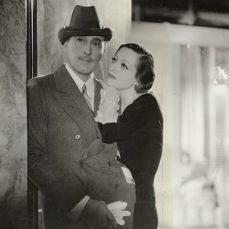 George Hurrell (1904-1992) - John Barrymore & Joan Crawford, 'Grand Hotel', 1932