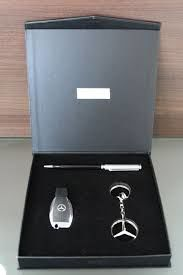 Mercedes Benz Gift Box Set - Key ring, USB & Pen - Official Accessories Collection - Ideal Pressent - 2018
