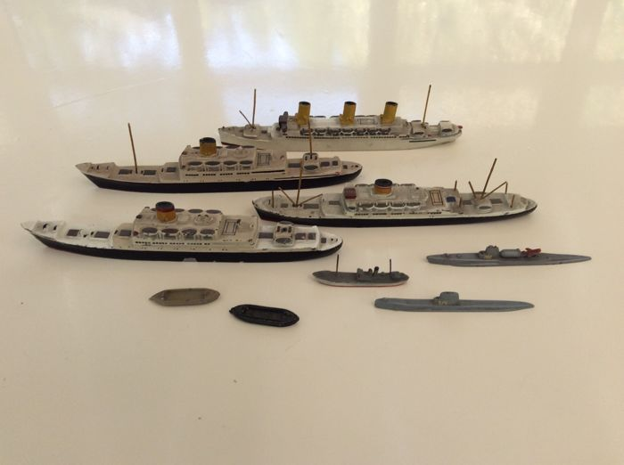 9  Wiking ship models scale 1: 1250