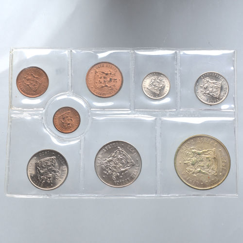 South Africa - Coin sets 1967-1969, 1972-1976 (8 sets