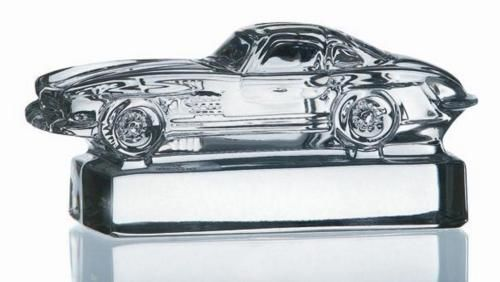 Mercedes Benz Paperweight  - Lead Crystal Glass Desk Accessories Classic 300SL  - 2017 (1 items)