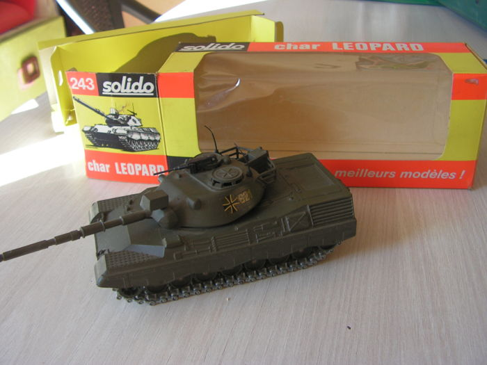 Solido - Char Leopard Allemand #243