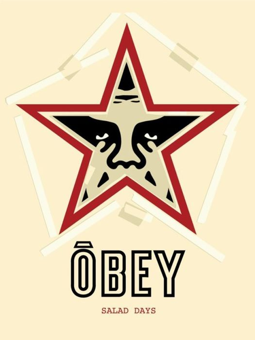 Shepard Fairey (OBEY) - Salad Days + Bonus