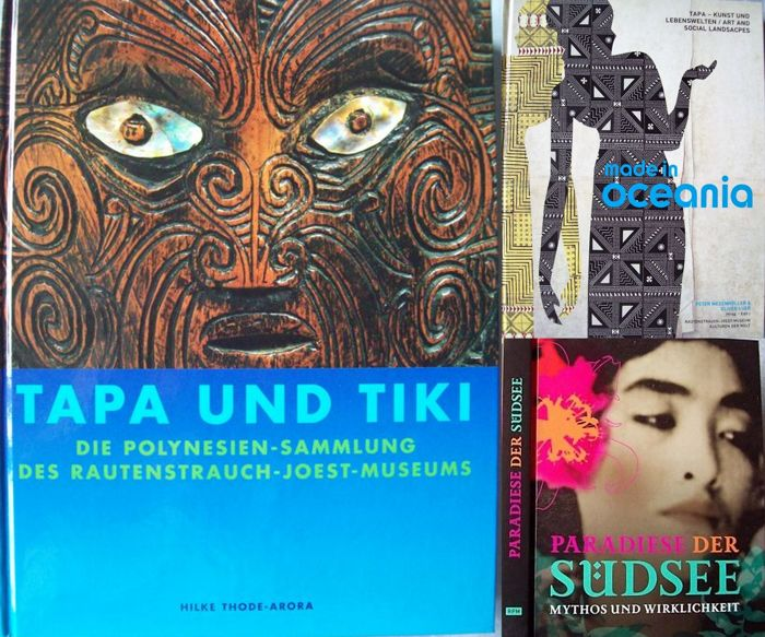 Lot with 3 books about tribal art of Oceania - 1968/2013