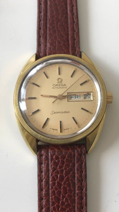 Omega calibre 1022- automatic-20 Micron Gold plated watch -1971-1980