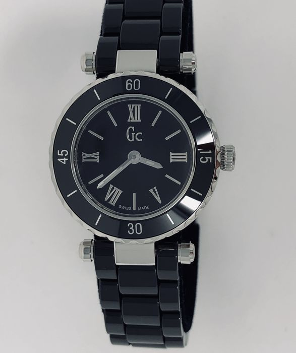 d001d8e8e2f62 Guess - GC Mini Chic Black Ceramic