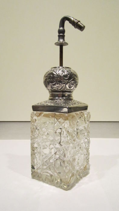 Sterling Silver Perfume bottle - .925 silver - United Kingdom - 1900-1949