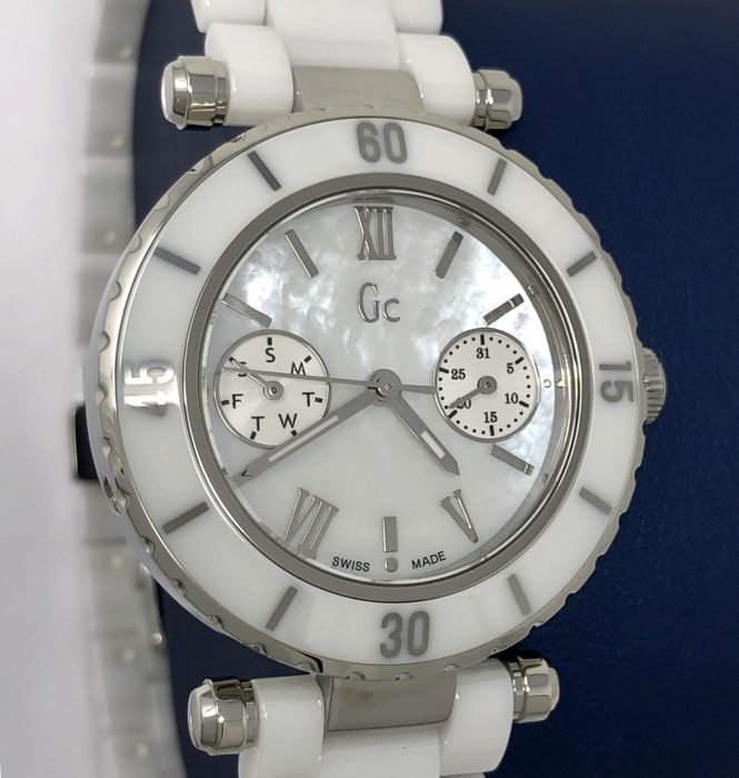 699776dbe Guess - GC Diver Chic White Ceramic