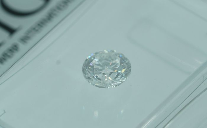 AIG 0.50ct E SI1 Natural Diamond  - Round Brilliant 3 x EX   ****No Reserve Price****