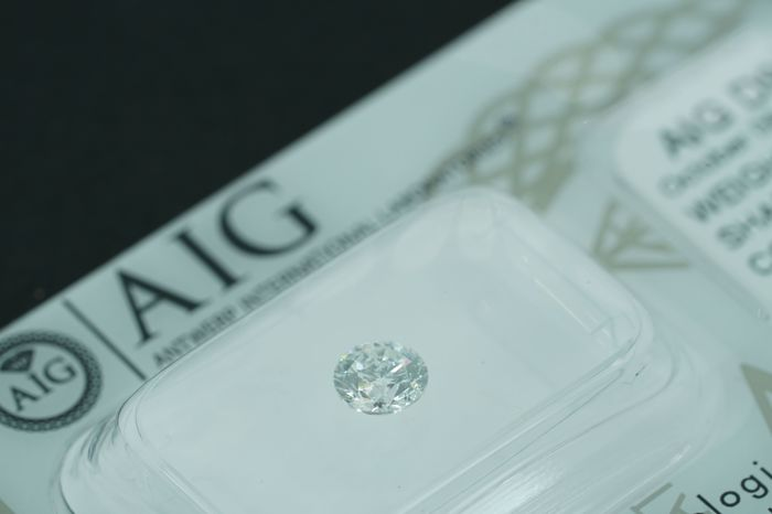 AIG 0.50ct E SI1 Natural Diamond  - Round Brilliant   ****No Reserve Price****