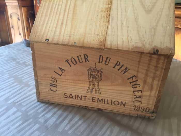 1990 Chateau la Tour du Pin Figeac, Saint-Emilion Grand Cru Classé - 12 bottles in OWC