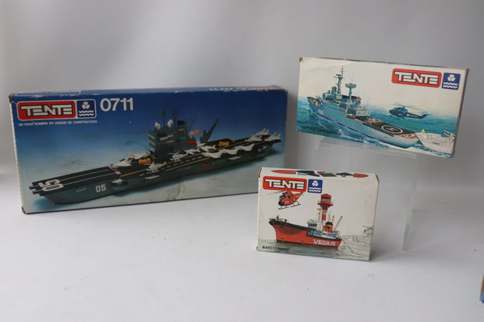 Tente - Vintage - 0711 - Military Boats - 1960-1969