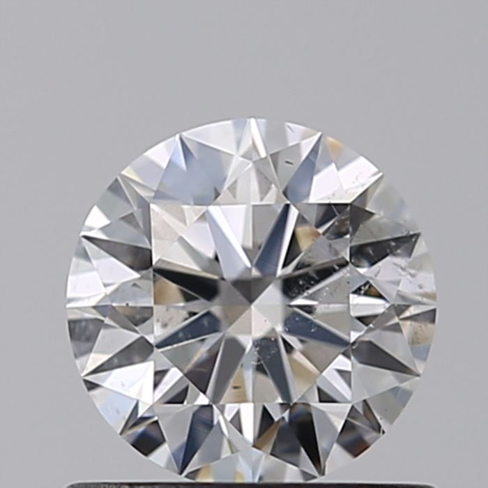1 pcs Diamante - 0.63 ct - Brillante - D (incoloro) - SI2